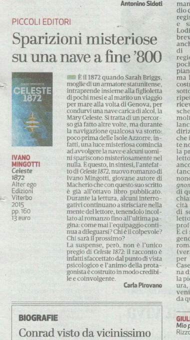 """""""Celeste 1872″ – AlterEgo Edizioni (4/4)"""